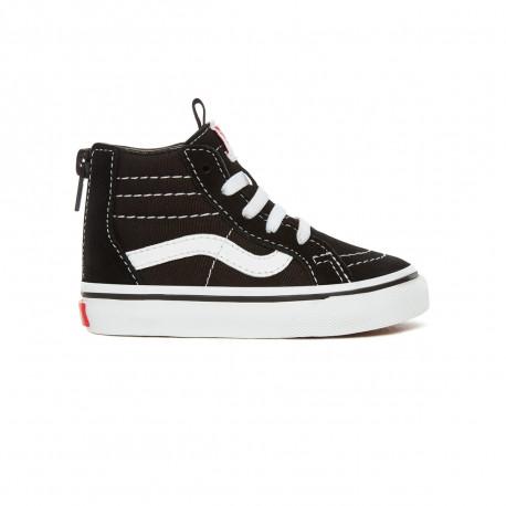 Sk8-hi zip - Black/white