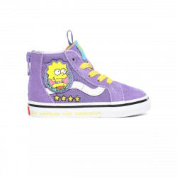 VANS, Sk8-hi zip, (the simpsons)lisa 4 prez