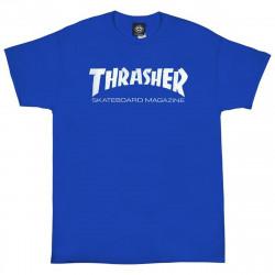 THRASHER, T-shirt skate mag, Royal