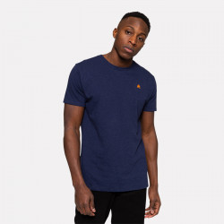RVLT, Application t-shirt 1198, Navy-mel