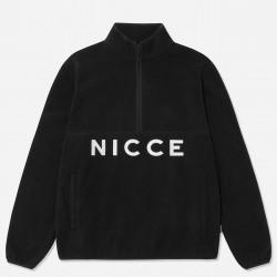 NICCE, Corto fleece half zip, Black