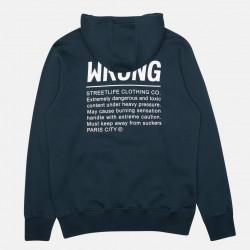 WRUNG, Hood caution, Duck blue