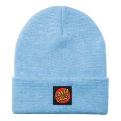 SANTA CRUZ, Classic label dot beanie, Powder blue