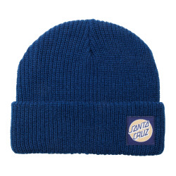SANTA CRUZ, Missing dot beanie, Dark navy