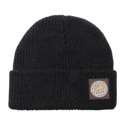SANTA CRUZ, Missing dot beanie, Black