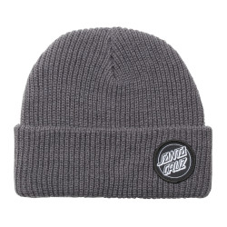 SANTA CRUZ, Outline dot beanie, Steel