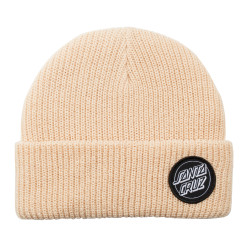 SANTA CRUZ, Outline dot beanie, Bone