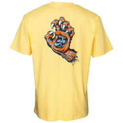 SANTA CRUZ, Salba tiger hand t-shirt, Banana