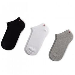 FILA, Invisible socks unisex fila 3 pairs per pack, Classic