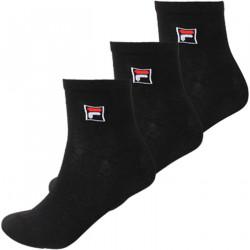 FILA, Quarter plain socks, Black