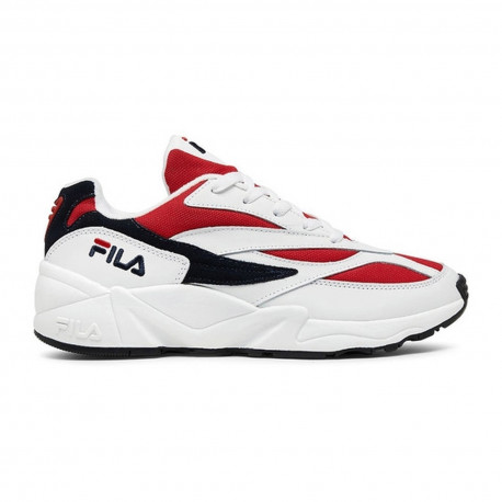 Venom low - White / fila navy / fila red