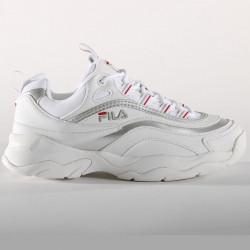 FILA, Ray low wmn, White / silver