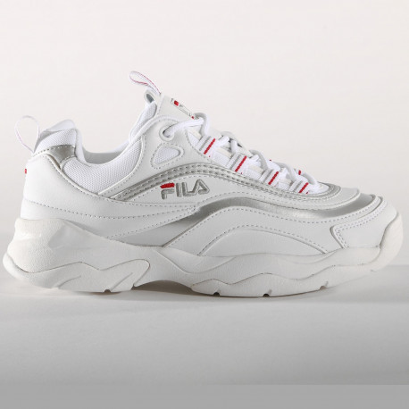 Ray low wmn - White / silver