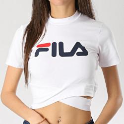 FILA, Women roxy belted turtle neck, Bright white