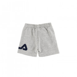 FILA, Kids classic basic shorts, Light grey melange bros