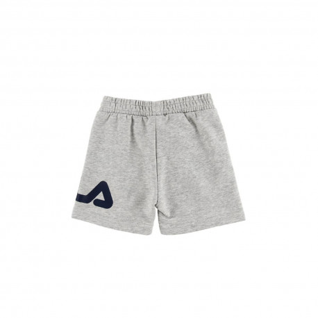 Kids classic basic shorts - Light grey melange bros