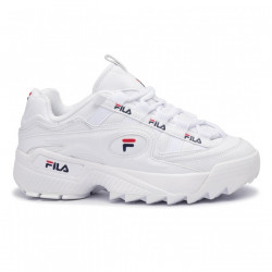 FILA, D-formation men, White / fila navy / fila red