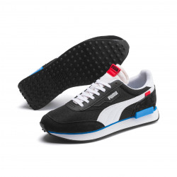 PUMA, Future rider play on, Puma black-puma white-ibiza blue