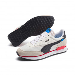 PUMA, Future rider play on, Whisper white-puma white-puma black