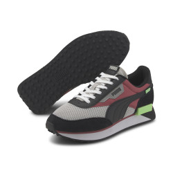 PUMA, Future rider galaxy, Gray violet-rose wine