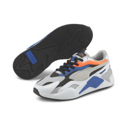 PUMA, Rsx3 folded edge, Gray violet-puma white-ultra orange