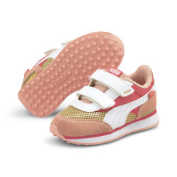 PUMA, Future rider fw, Sun kissed coral-puma white