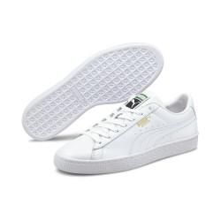 PUMA, Basket classic xxi, Puma white-puma white