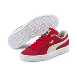 PUMA, Suede classic xxi jr, High risk red-puma white