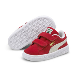 PUMA, Suede classic xxi v inf, High risk red-puma white