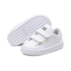 PUMA, Basket classic xxi v inf, Puma white-puma white