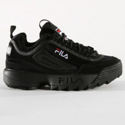 FILA, Disruptor v low wmn, Black / black