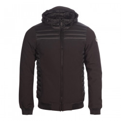 JUST OVER THE TOP, Paco ml capuche softshell, Black