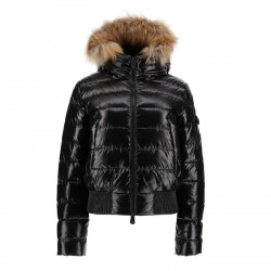 JUST OVER THE TOP, Micha bombers grand froid laque, Black