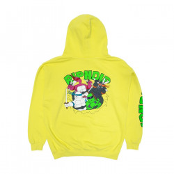 RIPNDIP, Teenage mutant hoodie, Neon green