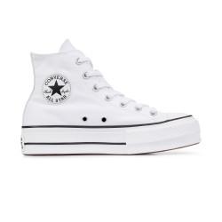 CONVERSE, Chuck taylor all star lift hi, White/black/white