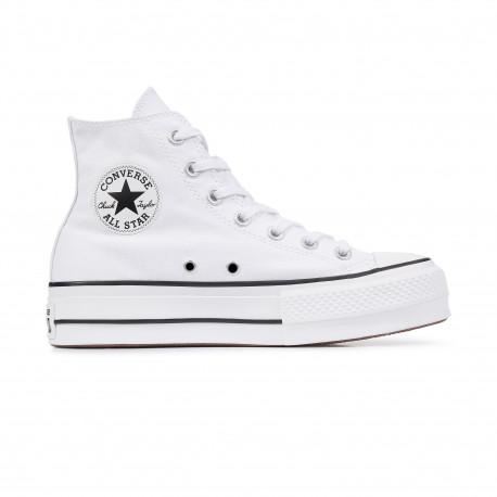 Chuck taylor all star lift hi - White/black/white