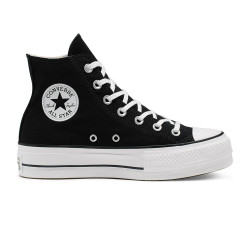 CONVERSE, Chuck taylor all star lift hi, Black/white/white