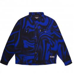 JACKER, Liquid blue jacket, Blue