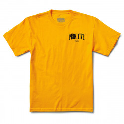 PRIMITIVE, T-shirt versus, Gold