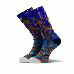 PRIMITIVE, Socks shadow clone, Blue