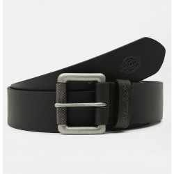 DICKIES, South shore leather belt, Black