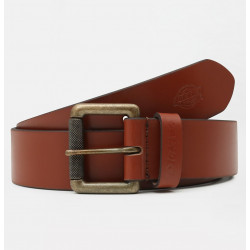 DICKIES, South shore leather belt, Brown