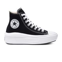 CONVERSE, Chuck taylor all star move hi, Black/natural ivory/white
