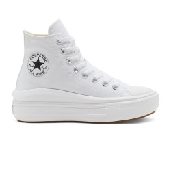CONVERSE, Chuck taylor all star move hi, White/natural ivory/black