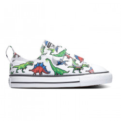 CONVERSE, Chuck taylor all star 2v ox, White/green/university red