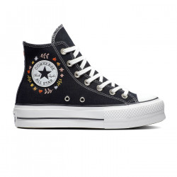 CONVERSE, Chuck taylor all star lift hi, Black/vintage white/multi