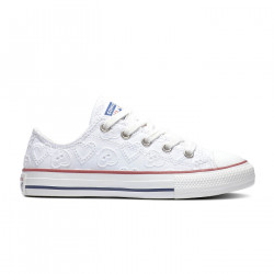 CONVERSE, Chuck taylor all star ox, White/vintage white/multi