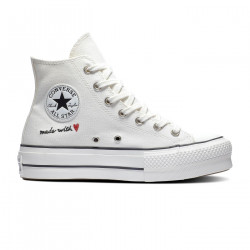 CONVERSE, Chuck taylor all star lift hi, Vintage white/egret/black
