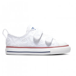 CONVERSE, Chuck taylor all star 2v ox, White/garnet/midnight navy