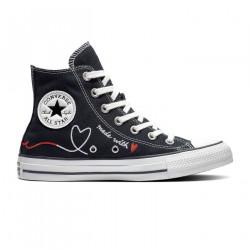 CONVERSE, Chuck taylor all star hi, Black/vintage white/egret